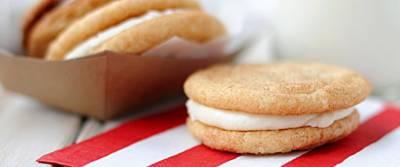 Snickerdoodle Sandwich Cookies recipe from Betty Crocker