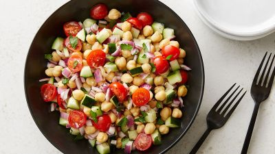 Easy Garbanzo Bean Salad Recipe - Tablespoon.com