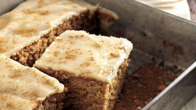 Butter Rum-Glazed Applesauce Cake Recipe - BettyCrocker.com