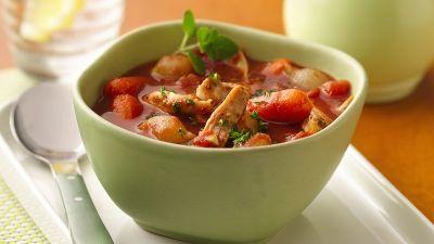 Slow-Cooker Greek Chicken Stew Recipe - BettyCrocker.com