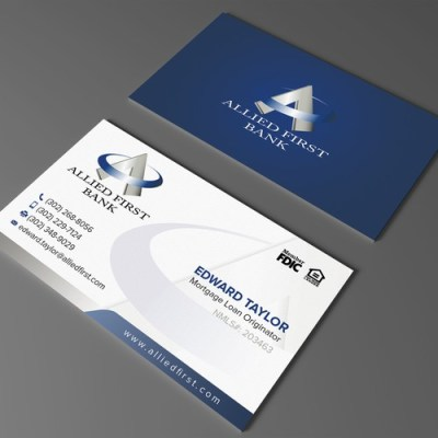 Powerful Loan Officer Business Card | Business card contest