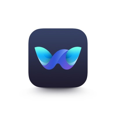 Beautiful app icon for an iPhone X Wallpaper App!   Icon or button contest