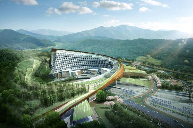New Korea Hydro Nuclear Power Headquarters / H Architecture | ArchDaily