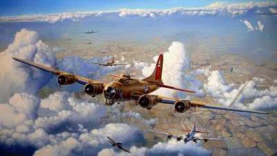 64 Boeing B-17 Flying Fortress HD Wallpapers | Background Images - Wallpaper Abyss - Page 2