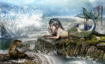 146 Mermaid HD Wallpapers | Backgrounds - Wallpaper Abyss - Page 4