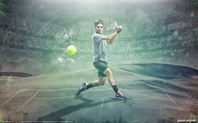 5 Roger Federer HD Wallpapers | Backgrounds - Wallpaper Abyss