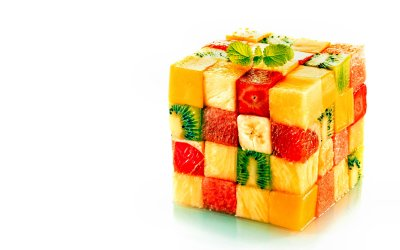 CREATIVE [17] fruity cube [ 27november2014thursday] [165047] [VersionOne] 4k Ultra HD Wallpaper ...