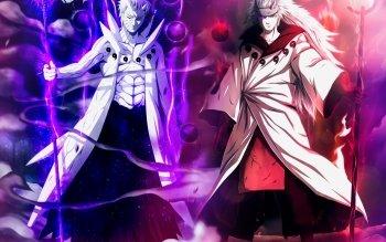 Anime Naruto Madara Uchiha Obito Uchiha Sage of Six Paths HD Wallpaper   Background Image