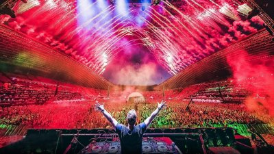Hardwell live at Ultra Europe 2016 HD Wallpaper   Background Image   1920x1080   ID:721149 ...