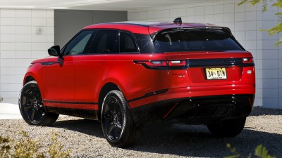 2018 Range Rover Velar R-Dynamic Black Pack HD Wallpaper | Background Image | 1920x1080 | ID ...