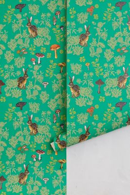Mushroom Forest Wallpaper | Anthropologie