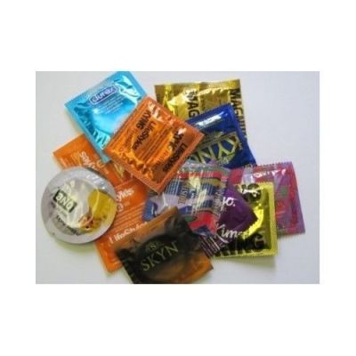 Condoms Variety Pack Trojan Durex Lifestyles and 50 ...