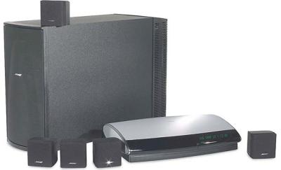 Bose® Lifestyle® 18 (black) DVD home theater system at ...
