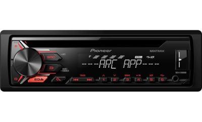 Pioneer DEH-X1900UB CD receiver at Crutchfield.com