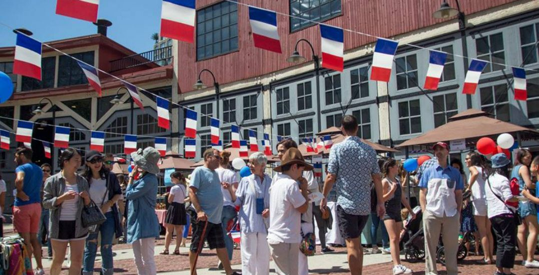 Celebrate French culture at a FREE Bastille Day Festival in Yaletown     Bastille day festival