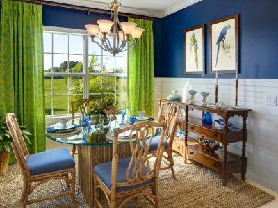 25+ Blue Dining Room Designs, Decorating Ideas | Design Trends - Premium PSD, Vector Downloads