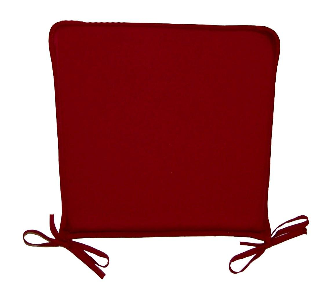 maroon kitchen chair cushions kitchen chair seat cushions Maroon Kitchen Chair Cushions Dining Chair Seat Pad Cushion Burgundy Red eBay Dining Chair Seat Pad