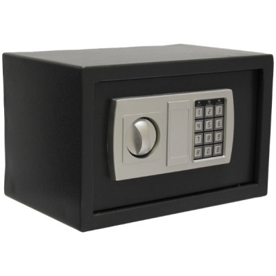 ELECTRONIC DIGITAL KEYPAD SAFE HIGH SECURITY STEEL HOME/HOTEL CASH/MONEY BOX | eBay