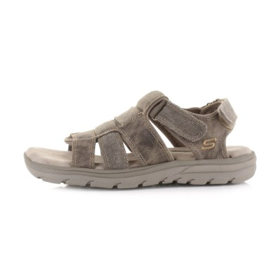Mens Skechers Supreme Equipt Taupe Relaxed Fit Comfort ...
