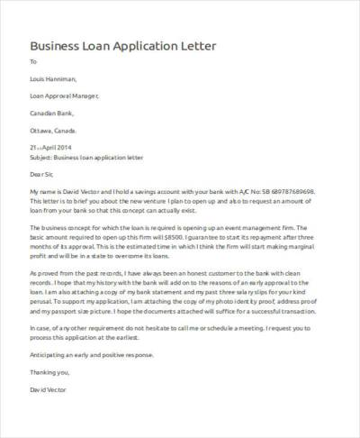 52+ Application Letter Examples & Samples - PDF, DOC | Examples
