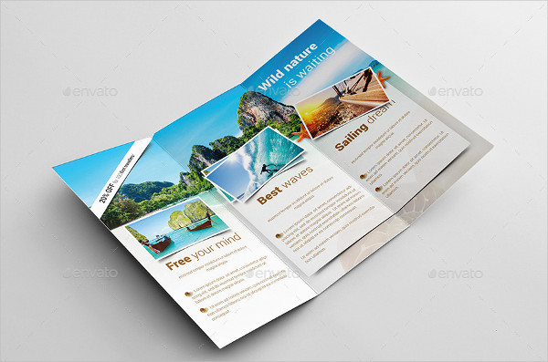 75  Brochure Designs   Examples   PSD  AI  EPS Vector Holiday Travel Brochure