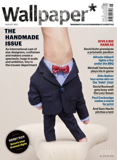 Cover of Wallpaper* Magazine , August 2012 (ID:22613)  Magazines   The FMD