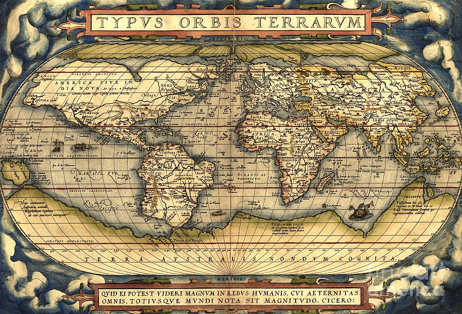 Ancient Maps That Shouldn t Exist  page 2 The Theatrum atlas first appeared in 1570 and continued to be published  until 1612  During this period  over seventy three hundred copies were  printed in