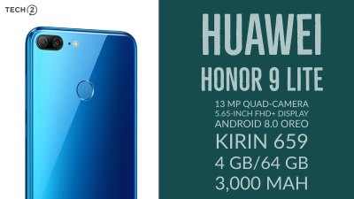 Huawei Honor 9 Lite first impressions: Quad-camera smartphone priced from Rs 10,999 onwards has ...