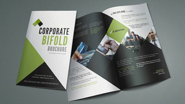 21  Free PSD Bi fold Brochure Mockups   FreeCreatives img