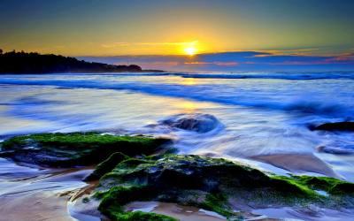 10+ Best Beach Sunset Desktop Wallpapers FreeCreatives