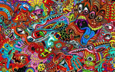 18+ Psychedelic Backgrounds, Wallpapers, Images | FreeCreatives