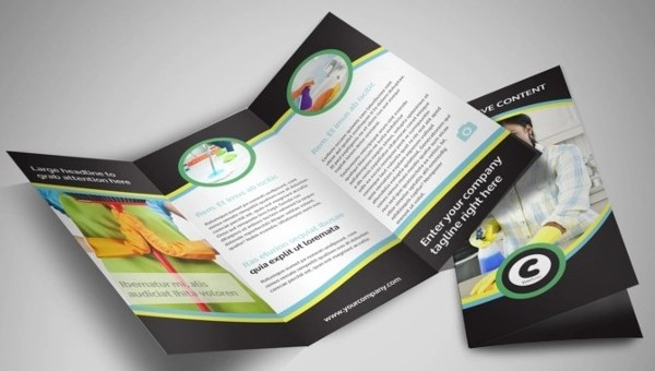24  Service Brochure Templates   PSD  AI  Vector EPS Format Download img