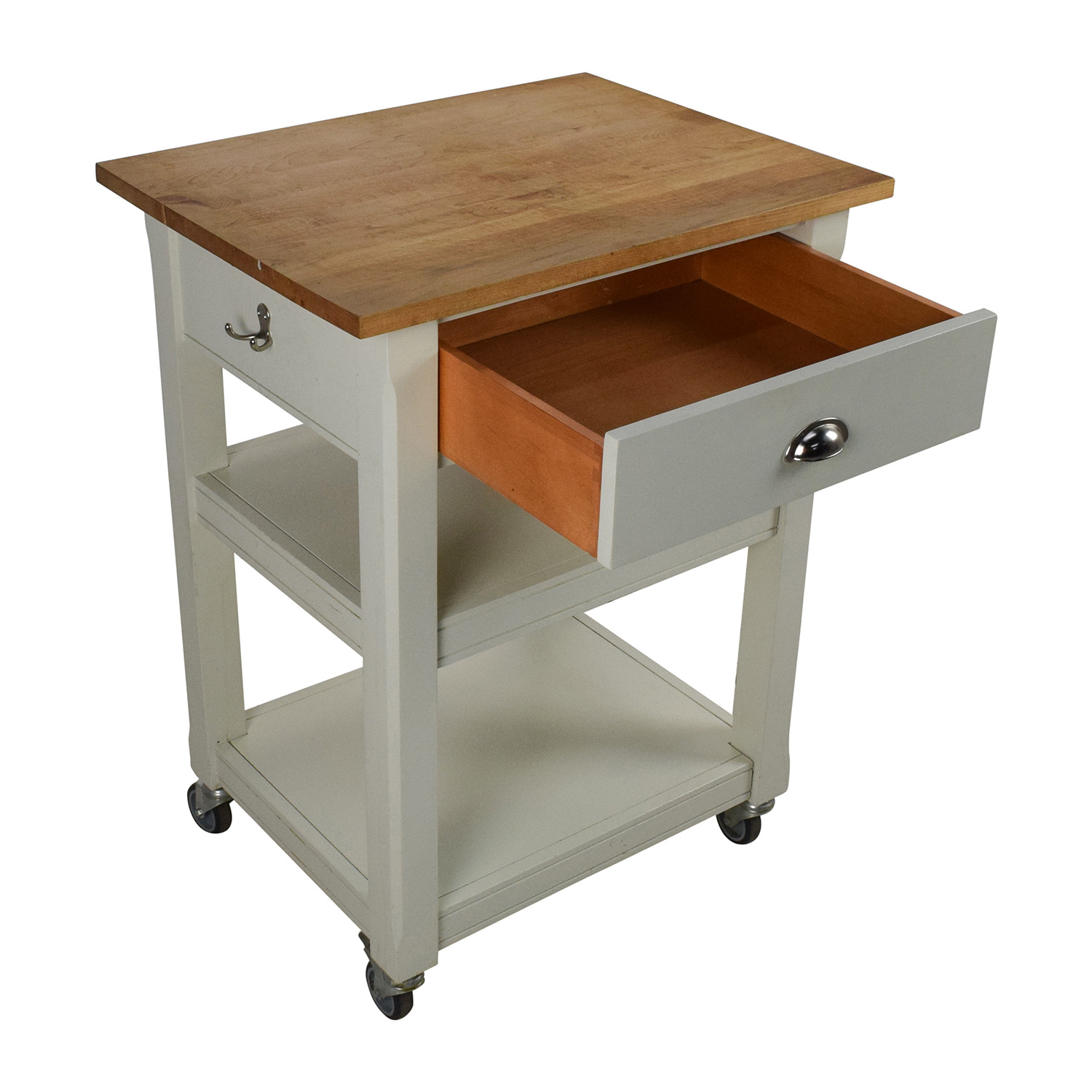 second hand rolling kitchen cart with cutting board kitchen cutting table buy Rolling Kitchen Cart with Cutting Board online