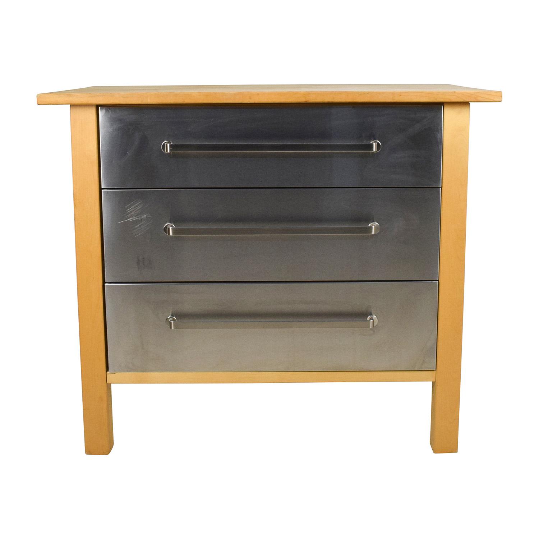 utility tables kitchen utility table IKEA IKEA Varde Kitchen Butcher Block Island with Storage Utility Tables