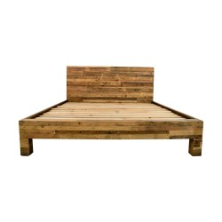 58 Off West Elm West Elm Emmerson® Reclaimed Natural Wood King