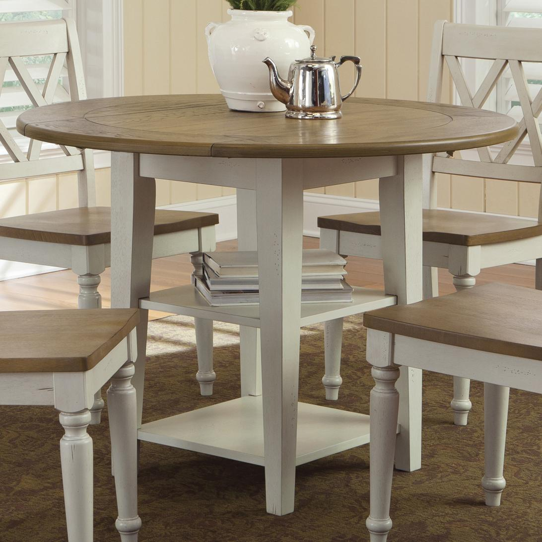 drop leaf kitchen tables Liberty Furniture Al Fresco III Drop Leaf Dining Table Item Number