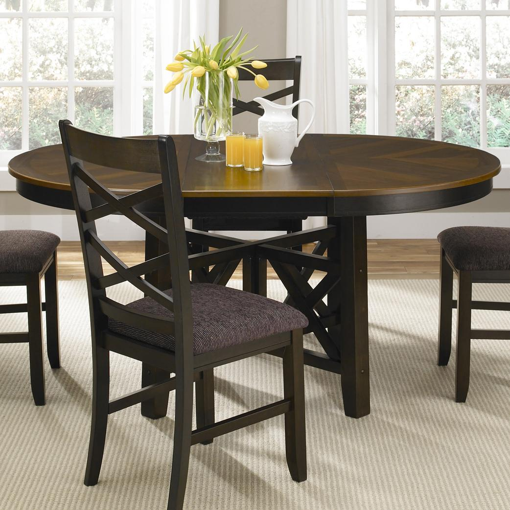 oval kitchen table Liberty Furniture Bistro II Oval Pedestal Dining Table Item Number 74 P