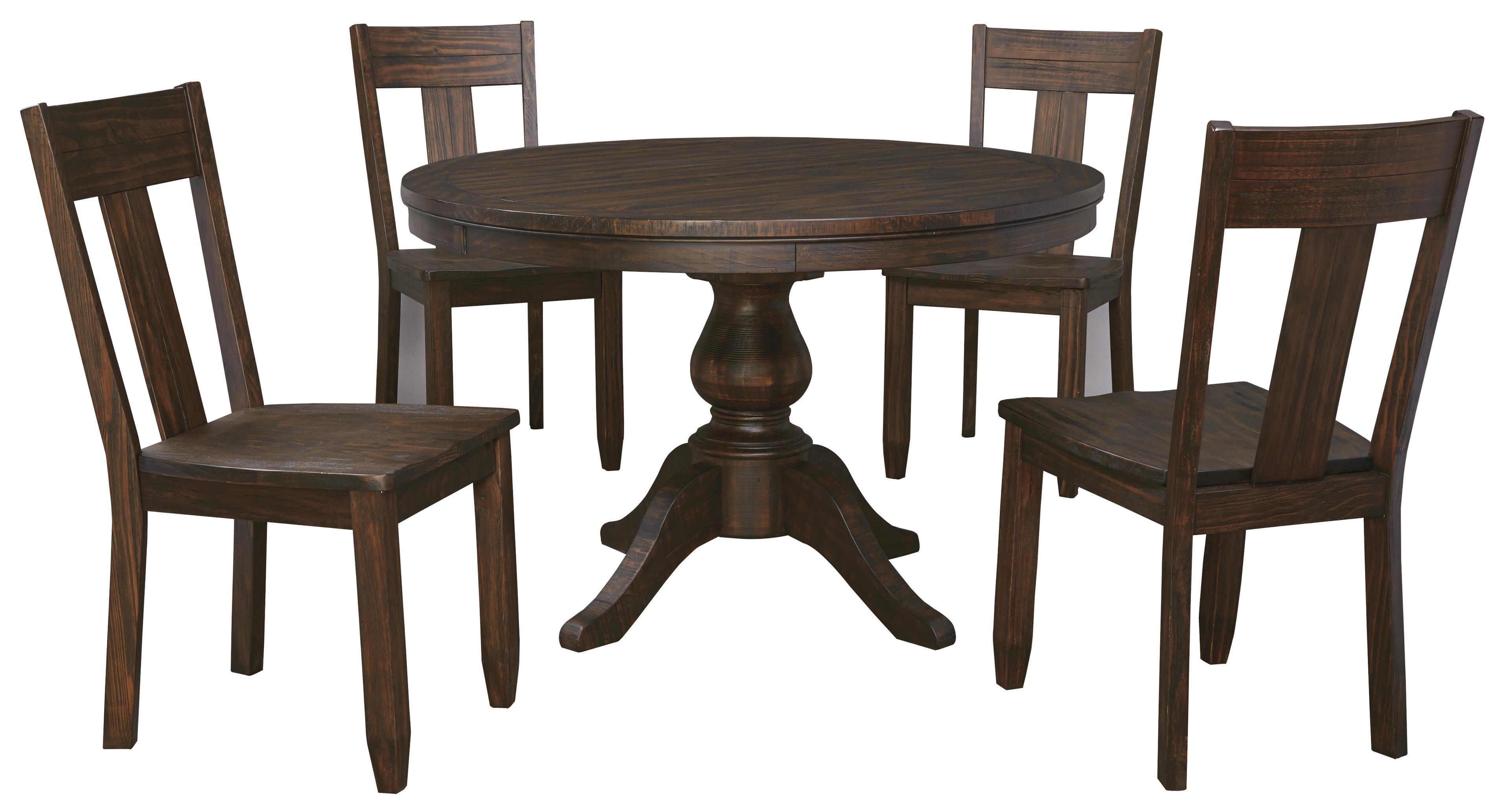 item kitchen table chairs Signature Design by Ashley Trudell 5 Piece Round Dining Table Set Item Number