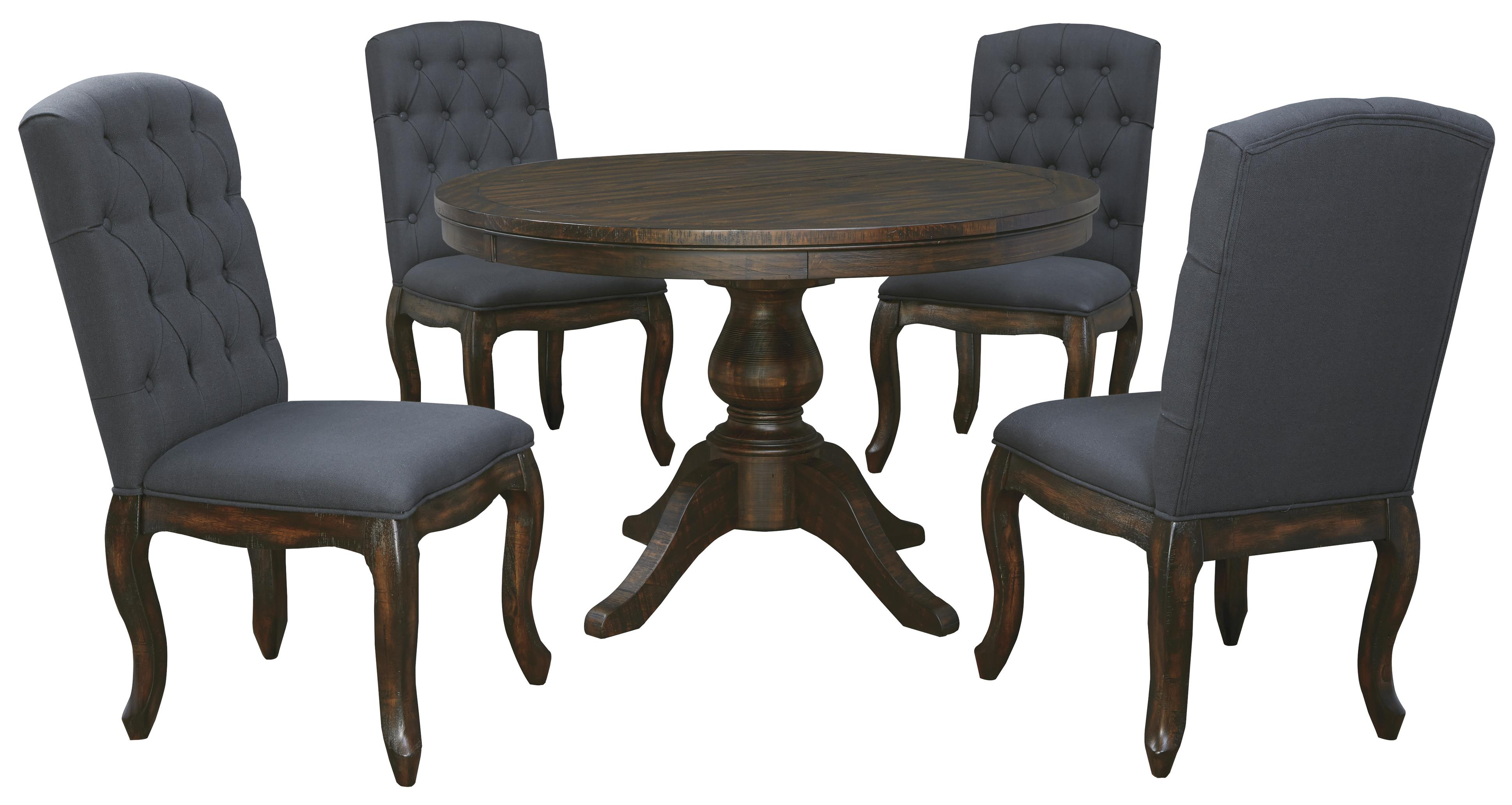 kitchen table and chairs Signature Design by Ashley Trudell 5 Piece Round Dining Table Set Item Number