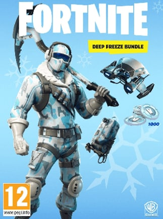 Fortnite Deep Freeze Bundle Epic Games PC Key GLOBAL - G2A.COM