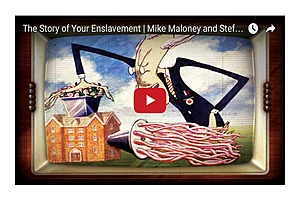 The Story of Your Enslavement | Mike Maloney and Stefan Molyneux - GoldSilver.com
