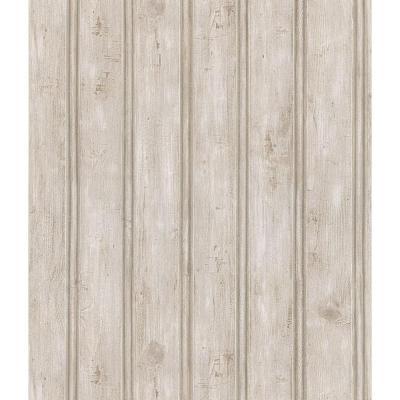 Brewster Beadboard Wallpaper-145-41389 - The Home Depot