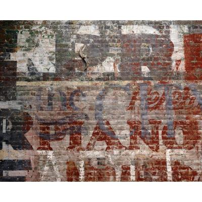 Brewster Warehouse Brick Wall Mural-WR50507 - The Home Depot