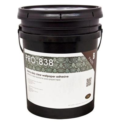 Wallpaper Adhesive Clear For Pasting Machine Wall Covering Paste Glue 5 Gal NEW 5408381735163   eBay