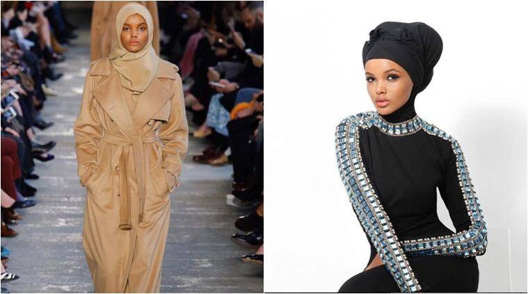 Hijab-wearing model Halima Aden is back; this time on the ...