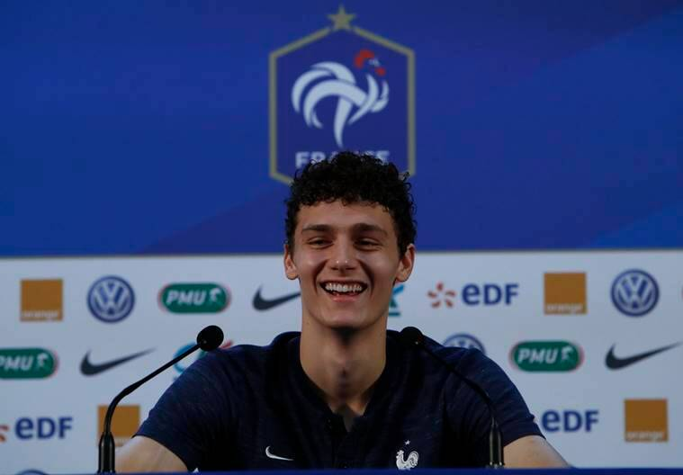 At World Cup  France defender Benjamin Pavard makes his name   The     In Russia  Pavard is now fielding questions about whether he might transfer  from Stuttgart to a bigger European club   Source  Reuters