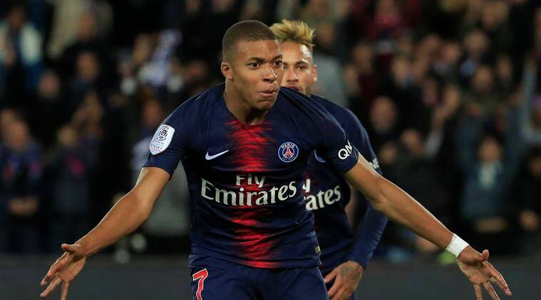 Ligue 1: Kylian Mbappe scores four goals in 14 minutes in ...