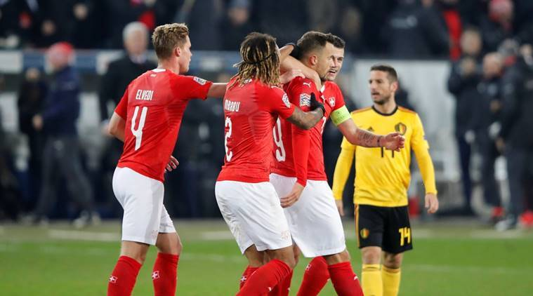 UEFA Nations League: Switzerland reach semis with thumping of Belgium | Sports News, The Indian ...
