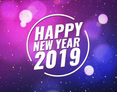 Happy New Year 2019 Wishes Images, Quotes, Status, Wallpapers, Greetings Card, Shayari, SMS ...