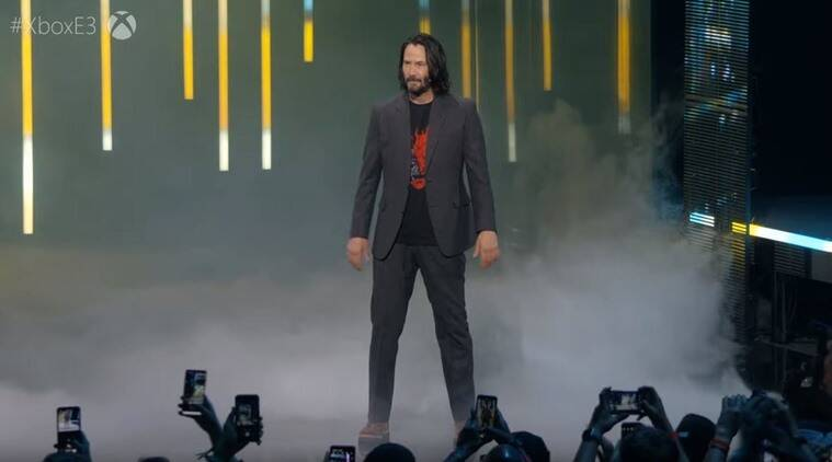Keanu Reeves wows audience in a surprise E3 appearance to ...